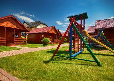 domki Darłówko Patryk plac zabaw